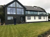 Window cleaning gutter cleaning Dalgety Bay Aberdour Inverkeithing Rosyth Dunfermline Cowdenbeath