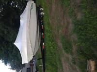 1989 chris craft 24 ft boat with trailer
