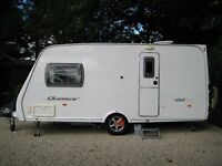 Lunar Quasar 462, (2007), 2 berth caravan in excellent condition with full service history.