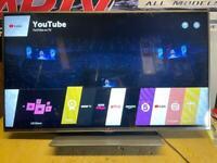 LG 55inch smart 3D LED Tv wifi warranty