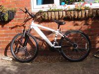 24'' wheel mountain bike 15 gears approx age 9+