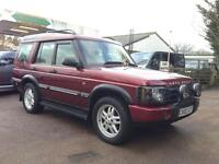 Land Rover Discovery 2.5 Td5 GS 7 seat 5dr Auto (red) 2002