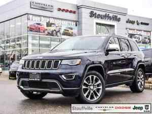 2018 Jeep Grand Cherokee Limited With Luxury Group AND Navi, 19,