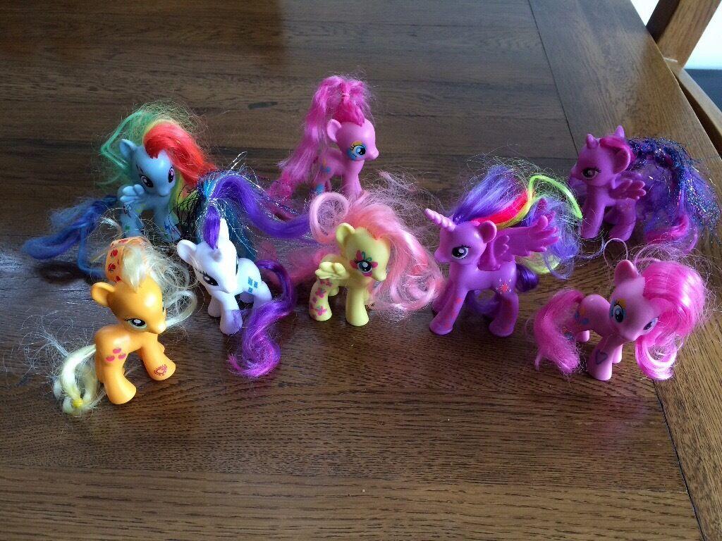 My little pony's 8