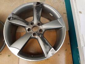 "1x 20"" Genuine **(BARGAIN PRICE)** ORIGINAL Audi Rotor ALLOY WHEEL RIM (Audi A6) 8.5J (5x112) ET45"