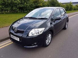 Toyota Auris 1.3 For Sale 2009 £3,800 O.N.O Full Service History 42k Mileage Excellent Condition