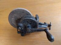 Manual Bench Grinder, very old!!