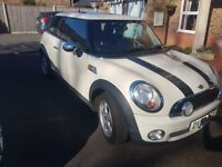 2007 Mini One 1.4l 6 speed with cream leather