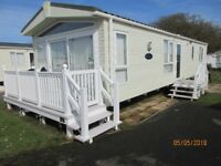 2015 2 Bedroom Holiday home in Haven Church Farm, Pagham. Pemberton Rivington 40x13ft Sleeps 6.