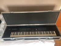 ROLAND RD 700GX Stage piano and flight case