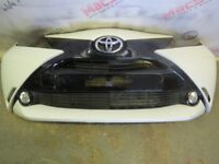 TOYOTA AYGO FRONT BUMPER IN WHITE FITS 2014-2017 FACELIFT MODELS
