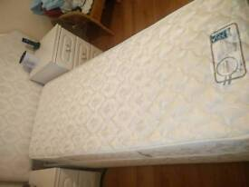 Adjustamtic Bed and headboard