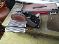 Disc Belt sander combination