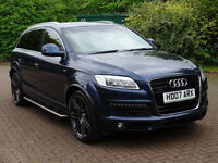 2007 07 AUDI Q7 4.2 TDI QUATTRO S LINE 5d AUTO 326 BHP **PART EX WELCOME*FINANCE AVAILABLE*WARRANTY*