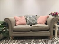 Laura Ashley Fabric Sofa's