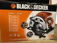 Black and Decker Circular Saw 55mm, CD601