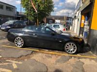 Bmw 320D Convertible Black First to see will buy!!!! 07903501901