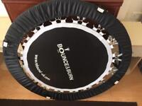 Bounce and burn rebounder