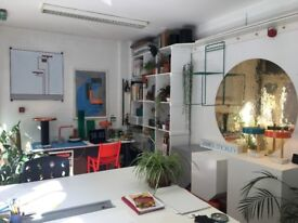 Large Desk Space available in creative studio share / workspace in Bethnal Green nr Hackney Road
