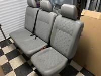 VW Transporter T5 rear kombi seats