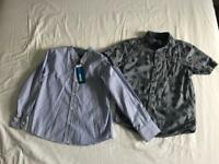 Boys shirts x2 size 8 years