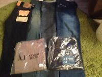 Mans Jeans all brand new 34 waist 30 leg