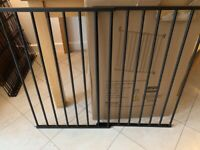 Brand new metal pet gate