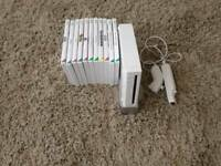 Nintendo Wii comple set up and games