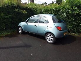 2001 Ford KA 2 for parts or repair - Nice set of alloy wheels, good engine,