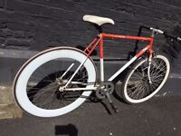 Single speed 55cm front mudguard included