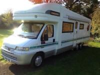Auto Trale Chieftain 5/6 berth motorhome for sale