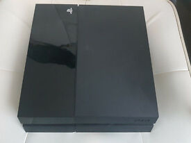 PS4 (500GB) Console + 2 Games + 1 Controller, Includes all accessories Apart From Headset