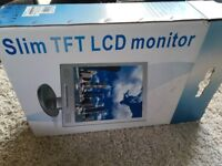 Tft LCD monitor 17'' silver for pc