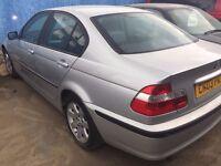 2003 | BMW 316 1.8 SE | Manual | Petrol | NEEDS ENGINE | 2 FORMER KEEPERS | MAIN DEALER SERVICE HIST