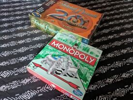 Free board games monopoly trivial pursuit