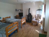 ANNEX for holiday rent Dunoon, cosy 2 bed, Sober B&B, We welcome people in recovery from alcoholism