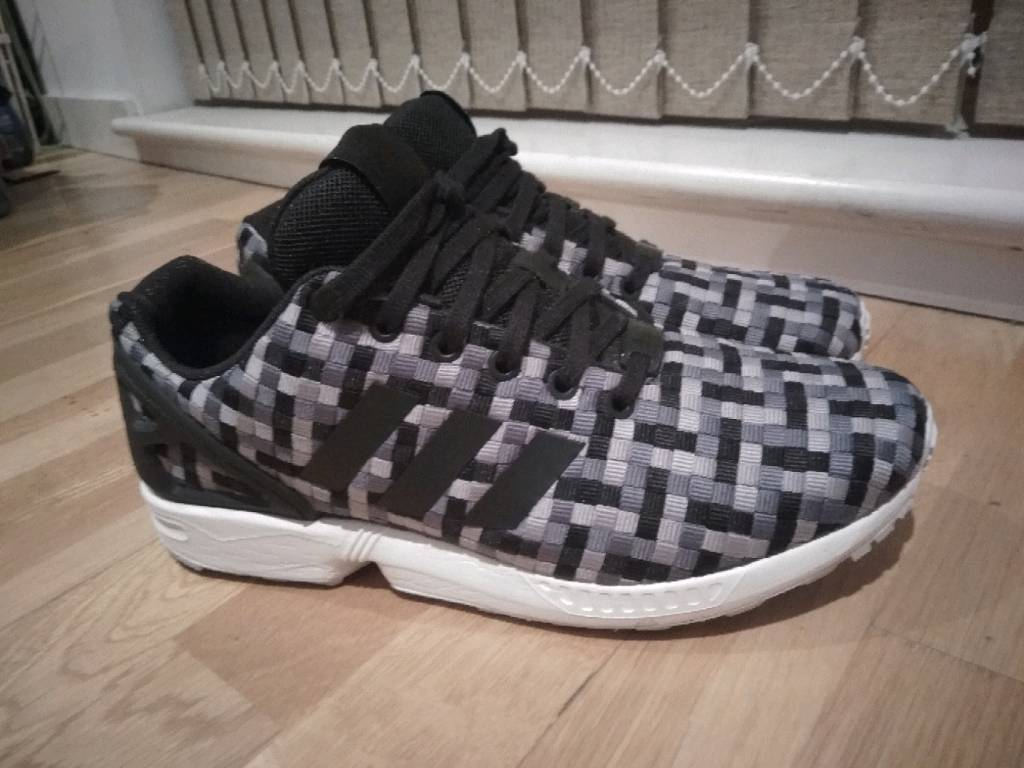2c160173b Adidas ZX flux weave Trainers size 8