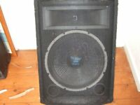 15inch skytec pa/disco and 9x6 infinty speakers