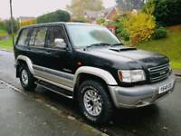 ISUZU TROOPER 7 SEATER CREAM LEATHER AUTOMATIC 4X4
