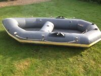 Dinghy. Avon Redseal. Ten ft long inflatable dinghy.
