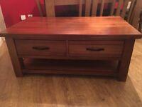 Tamworth Acacia Wood Coffee Table
