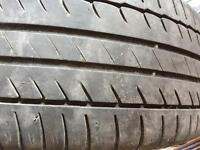 Toyota alloys with Michelin tyres