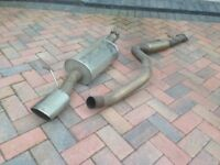 Seat Leon Cupra r mark 1 stainless steel exhaust