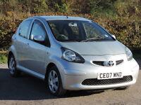 Toyota Aygo - Rare 5-door version - low mileage - long MOT - £20 road tax - Air con