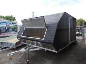 2019 Lightning Avalanche 2 Place All Aluminum Snowmobile Trailer