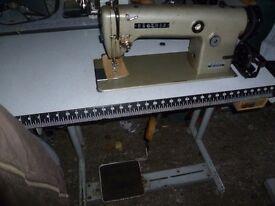 BROTHER Industrial lockstitch sewing machine Model DB2-B755-3 Single Phase,