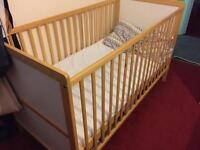 Baby cot for 0-5yrs