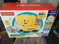 *new * Fisher price laugh and learn chair