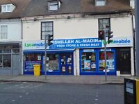 Double Fronted Supermarket/Off Licence Gravesend DA12