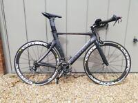 Cannondale Slice Carbon 105 2012 56cm Triathlon Bike - Excellent Cond